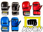 Kwon Real Leather MMA 8oz Sparring Gloves - RRP £59.99 - 75% NOW ONLY £14.95