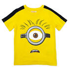 Despicable Me Minions Boys Yellow Short Sleeve Graphic T Shirt - Toddler