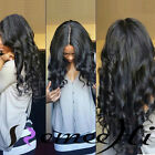 Beauty woman long body wave full/front lace wig indian remy human hair baby hair