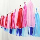 5X Tissue Paper Tassels Garland Bunting pompom Lantern Party Wedding Decorations