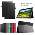 New Stand Leather Cover Folio Case For Acer Iconia Tab 10 A3-A30 10.1 inch Table