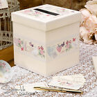 WITH LOVE WEDDING WISHES POST BOX & MESSAGE CARDS-Vintage Guest Book Alternative