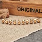 10PCS Antique Brass Sewing Leather Screw Buttons Press Studs Belt Wallet Rivets