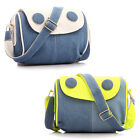 Women's Denim Handbag Messenger Shoulder Korean Tote Casual Bag