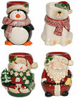 Village Candle - CHRISTMAS WAX MELT TART OIL BURNER - Penguin Santa Snowman Bear
