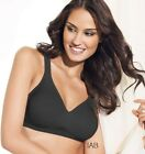 PLAYTEX 18 Hour Seamless Smoothing bra - Style 4049 - Featuring Black
