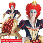 Ladies Queen of Hearts Fancy Dress Costume Official Disney Outfit Wonderland