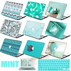 Mint Pattern Prints Hard Case Cover For New Macbook Pro Air 11 13