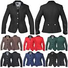 HORKA DIAMANTE COLLAR SHOWING JUMPING DRESSAGE STRETCH RIDING JACKET ALL SIZES