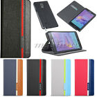 Flip Hybrid Leather Wallet Stand Card Case Cover For Samsung Note 4/Edge S6/Edge