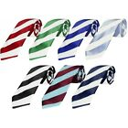 Hand Made Football Club Striped Mens Classic Ties Celtic Newcastle Utd West Ham