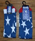 Mens Crew Socks by Two Sox Brand USA American Flag Eagle NYC Statue of Liberty