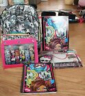 MONSTER HIGH BACKPACK, LUNCH BOX AND SUPPLIES 3 STYLES TO CHOOSE FROM