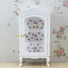 White Arc roof  Collection Counters Cabinet 1:12 Dollhouse Miniatures Furniture