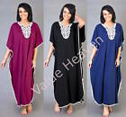 Kaftan Ladies Oriental Kaftans Beach Bikini Cover Dress Size 14 16 18 20 22 24