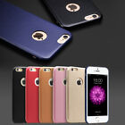 Luxury Ultra Thin Lambskin Leather Hard Back Cover Case for iPhone 6/6s TABiUK