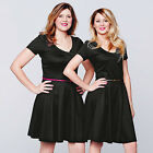 Avon Body illusion Belted Fit and Flare Dress ~ Choose Your Size ~ New