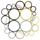 O rings metal steel straps collars craft 5 7 9 12 15 20 29 31 37 39 50 69 mm
