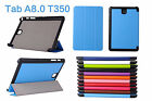 "Ultra Slim Smart PU Leather Case Cover For Samsung Galaxy Tab A 8 "" T350 Tablet"