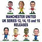 MANCHESTER UNITED MicroStars - Series 12, 14, 15, 16 Choice of 15 figures