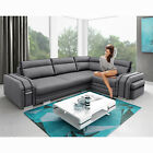 BRAND NEW CORNER SOFA BED Avant SEATER Footstool Drawer Sleeping Function Couch