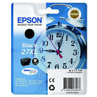 GENUINE EPSON 27XL ALARM CLOCK HIGH CAPACITY BLACK INK CARTRIDGE (C13T27114010)