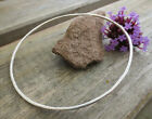 Single Sterling Silver Skinny Bangle Small to Extra large