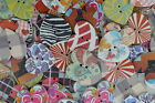 50-100 MIXED ROUND BUTTONS PATTERN HEART CARDMAKING CRAFT SCRAPBOOK SEWING