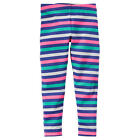 Carter's Girls Navy/Pink/White/Turquois Striped Leggings - Toddler