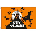 Halloween Flag 5 foot x 3 foot, choice of 7, will fly on a windsock pole