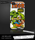THOR HULK Marvel Comic case iPod iPhone 4 4S 5 5S 5C / Galaxy S2 S3 S4 Mini