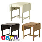 IKEA INGATORP Dinning Table, Drop-leaf table in 3 colors, Kitchen Table