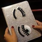 Flip Sparkling Eyes Smart Sleep Stand Leather Cover Case For ipad Mini 2/3/4/5/6