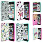 For Apple iPhone 6 6S 7 Plus Hybrid Rubber Hard...