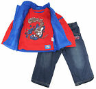 Sweet & Soft Little Boys' Music World Vest with Tee And Pants Set