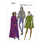 Vogue V8959 Sewing Pattern Misses' Cape - Loose Fitting & Lined - Very Easy