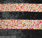 Floral Patterned Bias Binding Many Colours & Designs