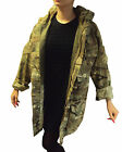 WOMENS WINTER COAT JACKET PATTERNED CAMO VINTAGE ARMY URBAN MTP SMOCK