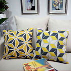 "Abstract Chrysanthemum 18""x45cm Decor Cotton Linen Cushion cover Pillowcase"