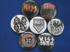 "KISS ROCK DR Necklace or Pinbacks or Necklace 7 SELECT A SIZE 1"", 1.25"" or 2.25"""