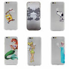 Cartoon Disney Super Protect Mobile Phone Hard Cover Case For iPhone 6s 6s Plus