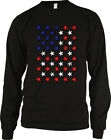 Red White And Blue Stars Flag USA America Patriotic Murica Long Sleeve Thermal