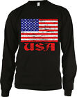 USA Flag United States of America Patriotic Independence Long Sleeve Thermal