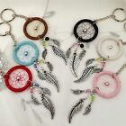NEW DREAM CATCHER KEYRING LOTS OF COLOURS TO CHOOSE FROM, NATIVE AMERICAN