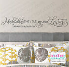 Song Of Solomon 3:4 Quote Vinyl Wall Decal I have Found the One my Soul Loves