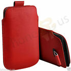 Small Premium PU Leather Pull Tab Case Pouch For BlackBerry Porshe Design P'9983