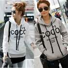 Fashion Korean Women Hoodie Sweatshirt Casual Hooded Coat Pullover Pullover Tops