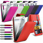 6 Colours Leather Flip Mobile Phone Case Cover For Sony Xperia Z5 Compact