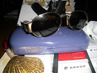 YVES SAINT LAURENT RETRO STYLE SUNGLASSES MD IN ITALY BRONZE TRIM VERY NICE