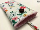 iPhone Padded Case / Sleeve Made in Cath Kidston Clifton Rose Ivory All Sizes